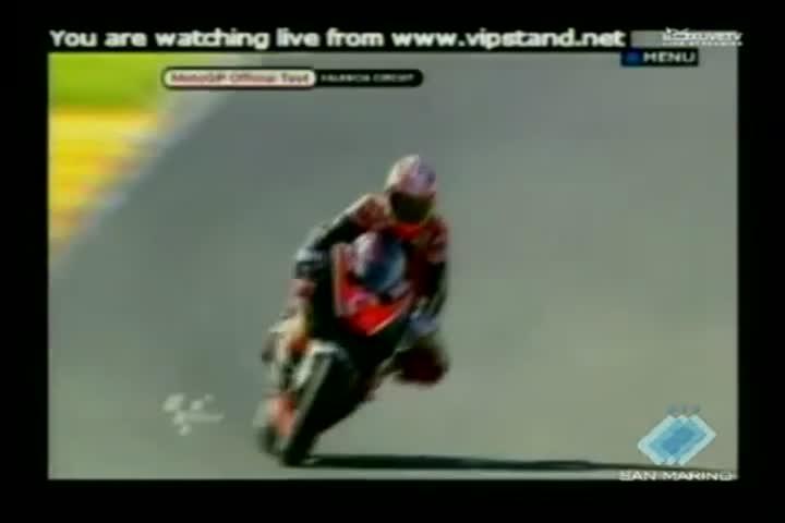 Test a Valencia. L'esordio di Rossi sulla Ducati