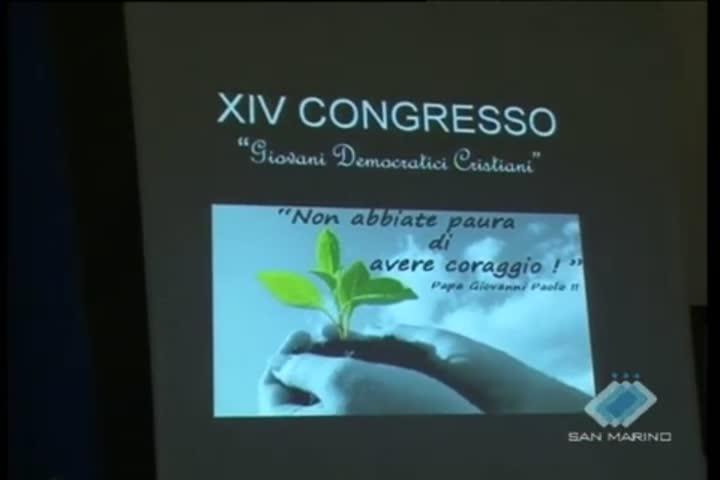 Ieri il 14esimo Congresso dei giovani democratici cristiani