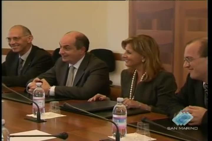 Firmati a Roma due accordi tra i ministri alla Sanità di Italia e San Marino