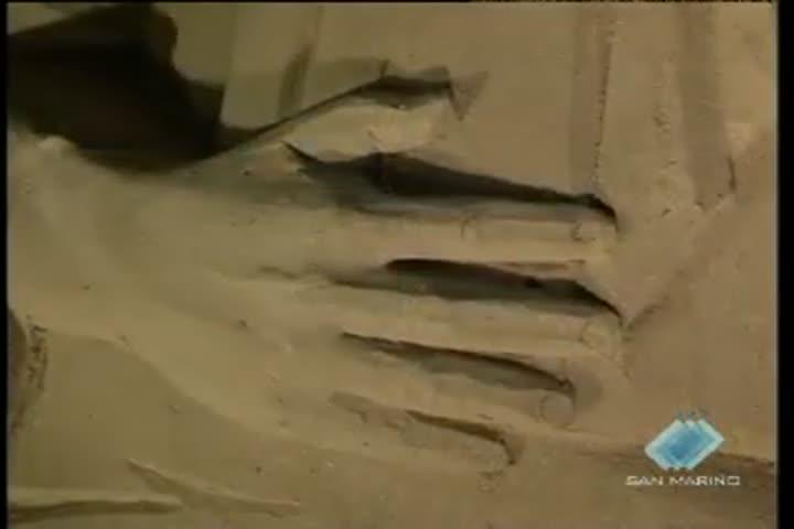 Presepe di sabbia in Riviera