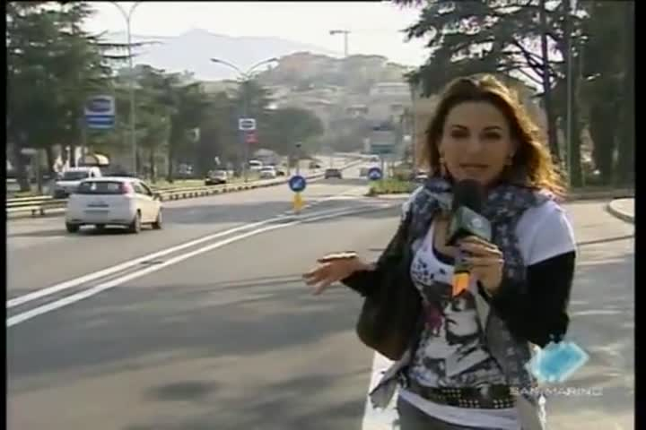 Disagi per imboccare la strada per Ponte Mellini
