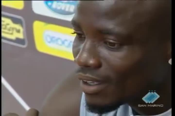 Cesena calcio: presentato Stephen Appiah