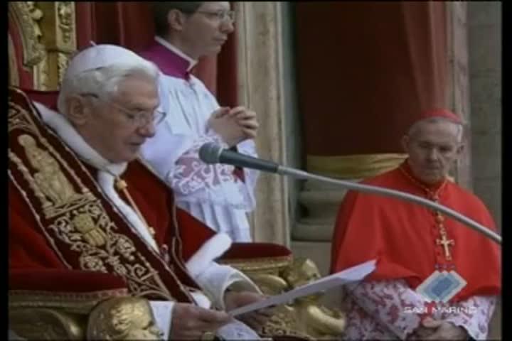 In migliaia a Roma per la benedizione Urbi et orbi
