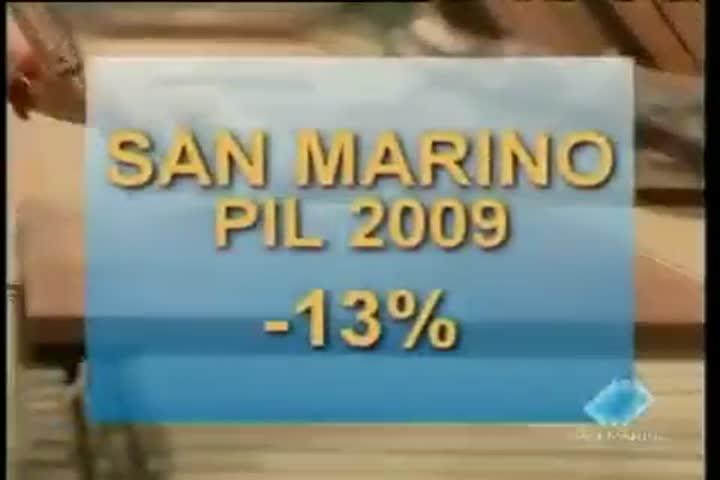 Il Pil del Titano è sceso a ritmi più sostenuti rispetto alla vicina Italia