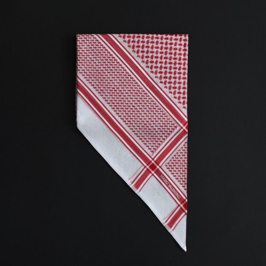 شماغ فلنتينو أحمر بلاك2018