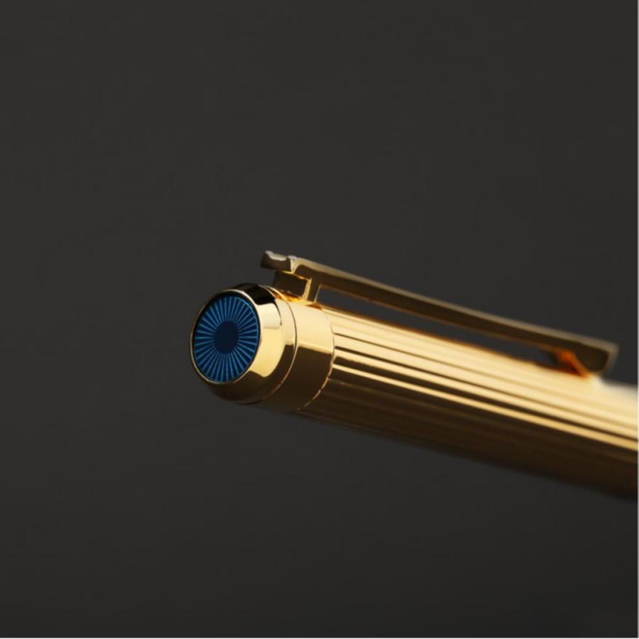 قلم نيتو ماراني لون ذهبي أزرق