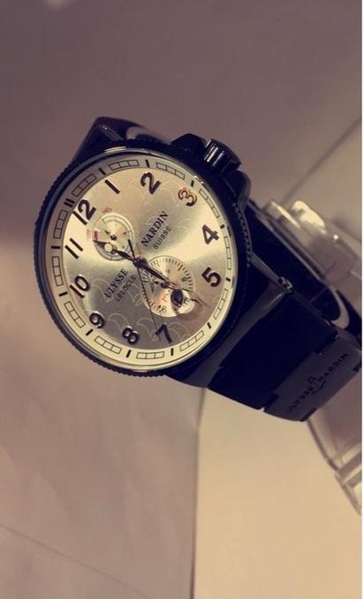 ساعة رجالية ماركة أولويس ناردين  تقليد درجة اولى