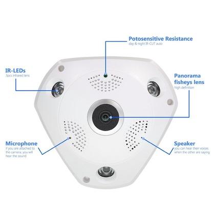 كاميرا مراقبة 3D