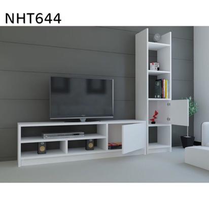 طاولة تلفاز موديل سابا - أبيض NHT644 رقم الموديل