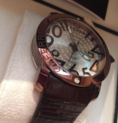 ساعة الماس اصلية رجالي