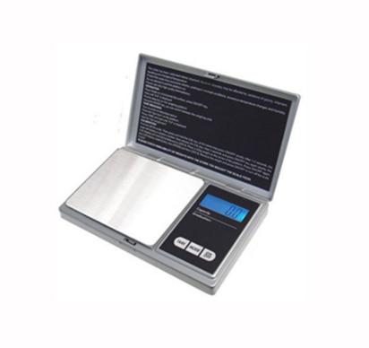 American Weigh Scales ميزان إلكتروني رقمي محمول بسعة 1000جرام الدقة 0.1 جرام