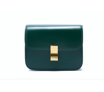 حقيبة لوميدس كلتش خضراء