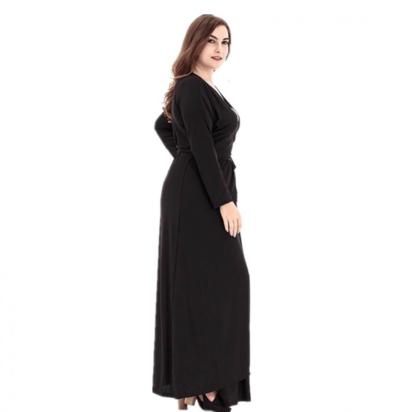 فستان طويل الأكمام للنساء
