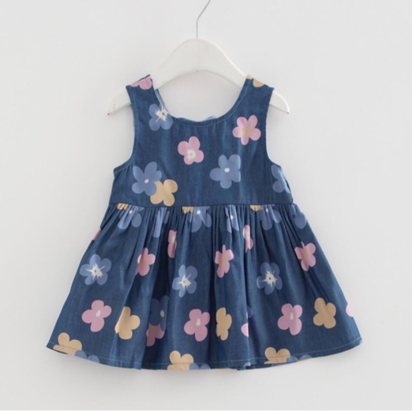 فستان بلا أكمام للطفل