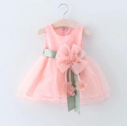 زهرة التفصيل فستان لطفلة