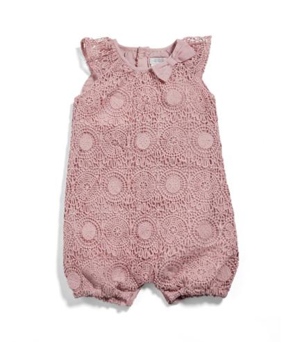 فستان طفلة رومبر من الدانتيل