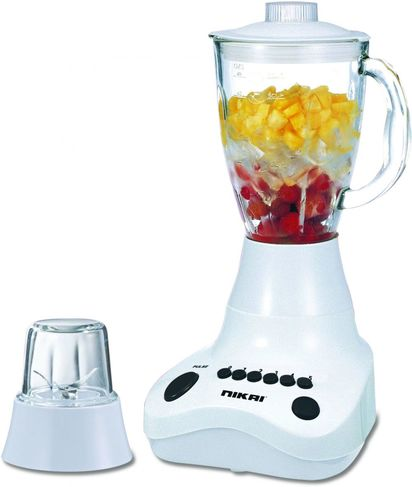 NIKAI JUICER BLENDER WITH 1.5 LTR GLASS JAR