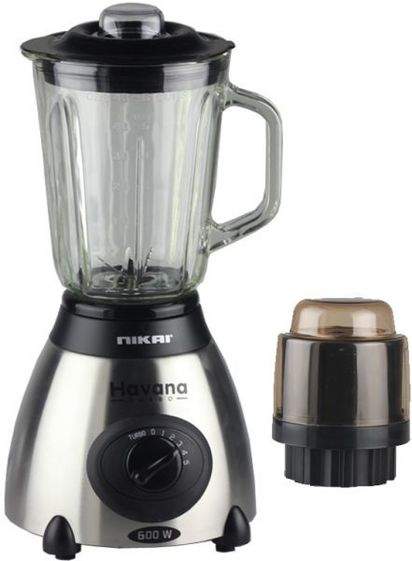 NIKAI BLENDER 1.8LTR GLASS JAR - 1200W