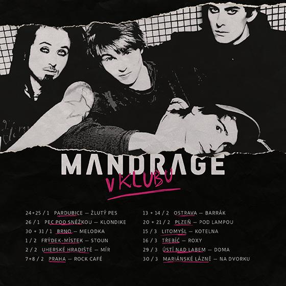Mandrage - V klubu