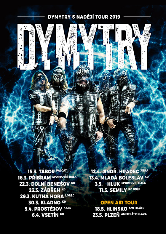 Dymytry<BR>S nadějí tour 2019