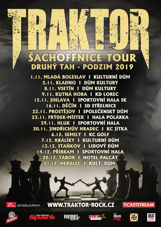 Tickets on a band TRAKTOR ŠACHOFFNICE TOUR