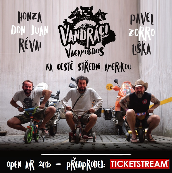 Vandráci - Vagamundos<BR>Open Air