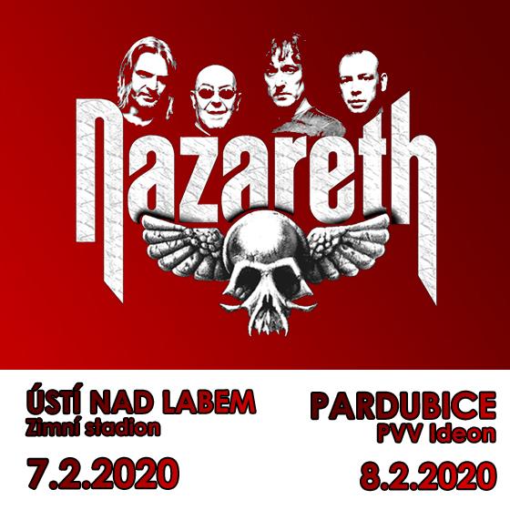Nazareth Czech Republic official tickets.