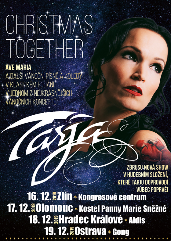 Tarja Turunen<BR>Christmas together