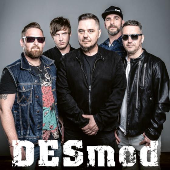 Vstupenky na koncerty skupiny Desmod