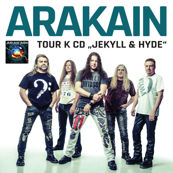 Tickets to tour the band Arakain.