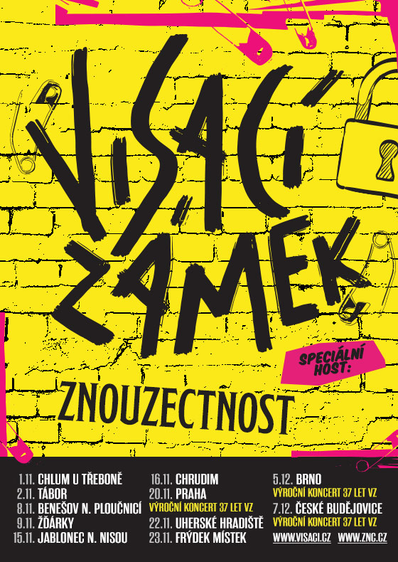 Visací zámek<br>Výroční koncert 37 let VZ<br>Speciální host: Znouzectnost