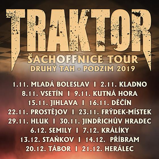 Traktor<BR>Šachoffnice Tour<BR>Druhý tah - podzim