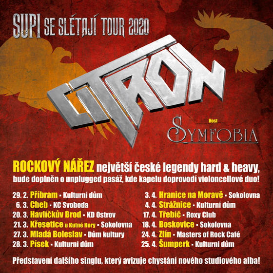 Citron metal band tickets