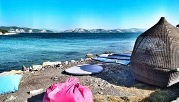 Milas Kıyıkışlacık'ta Rotan Klube Çadır ve Karavan Kamp Alanı