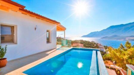 Kaş Çukurbağ'da, Denize Yakın, Özel Havuzlu Villa