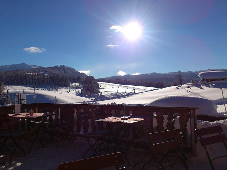 Terrasse-winter