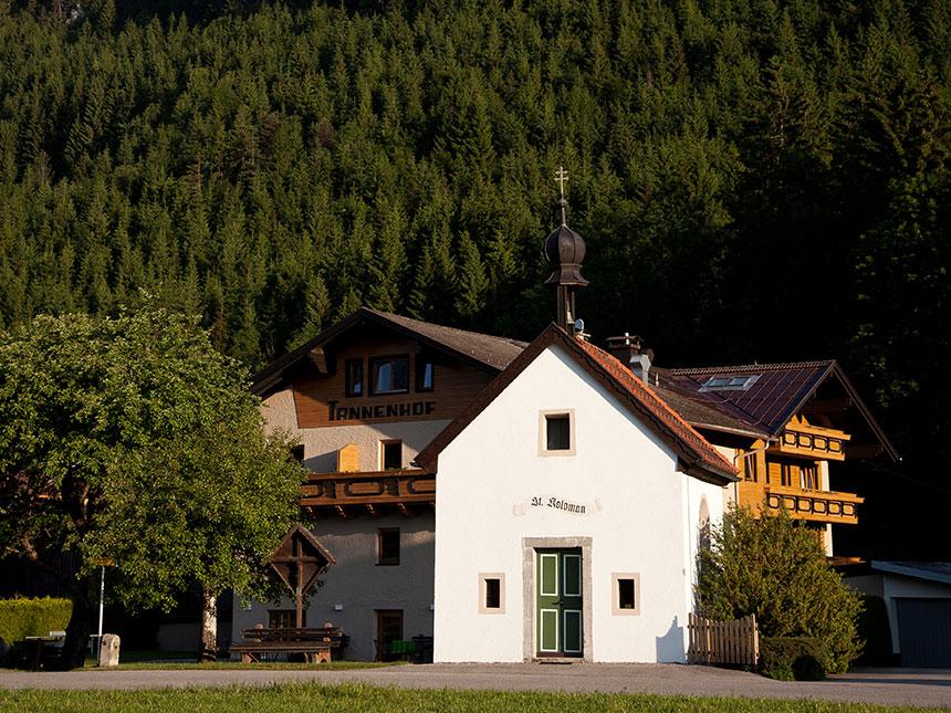 Tirol 8 Tage Reutte Urlaub Hotel Tannenhof Feri...