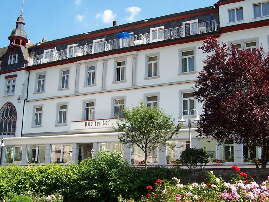 Eifel 3 Tage Urlaub Bad Bertrich Kur-Hotel Quel...