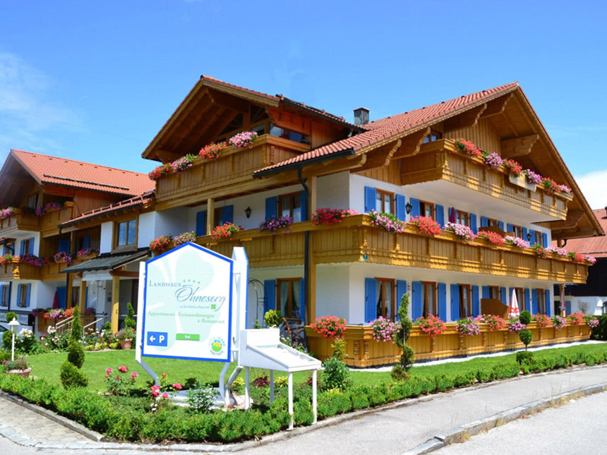 Allgäu 5 Tage Nesselwang Urlaub Landhaus Ohnesorg Ferienwohnung Reise-Gutschein