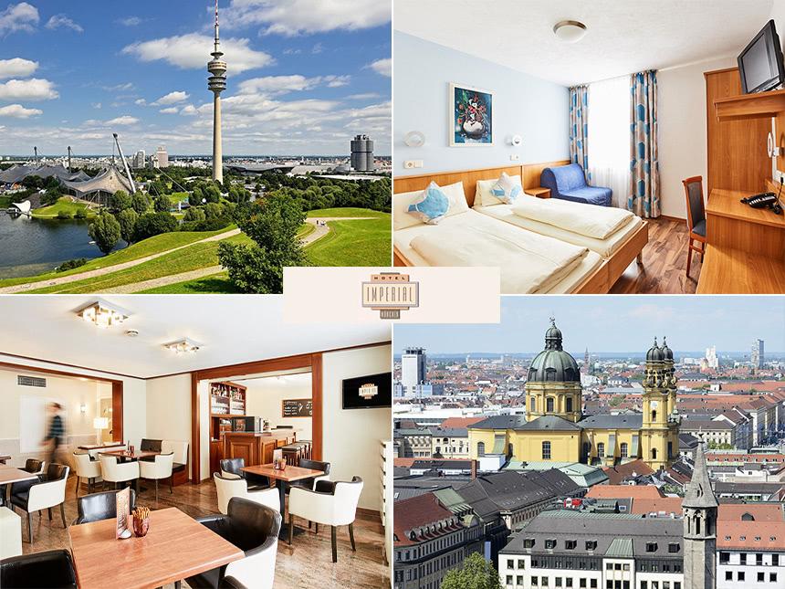 4 Tage Urlaub in München im Hotel Imperial mit Frühstück