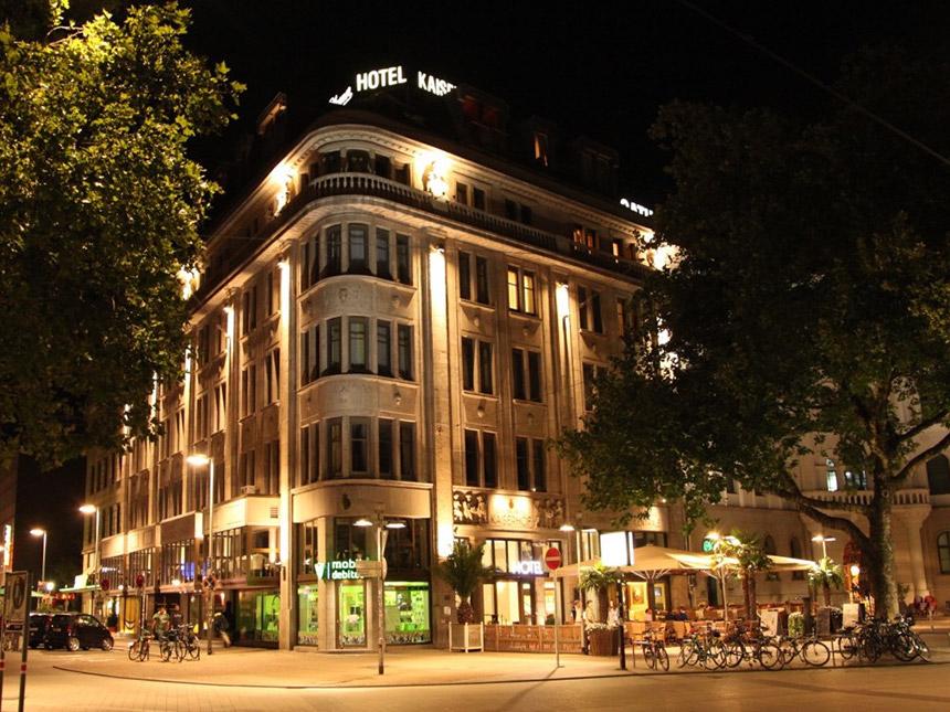 Hannover 4 Tage Kurzurlaub Hotel Kaiserhof Reise-Gutschein 4 Sterne Shopping Angebot aufrufen