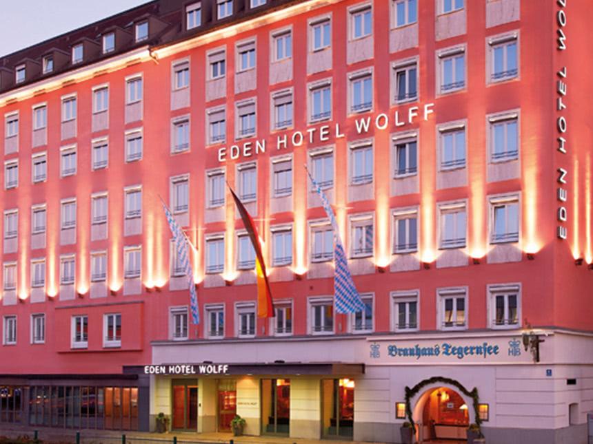 München 3 Tage Städtereise Eden Hotel Wolff Gut...