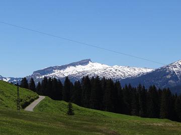 Schneebedeckte-Berge