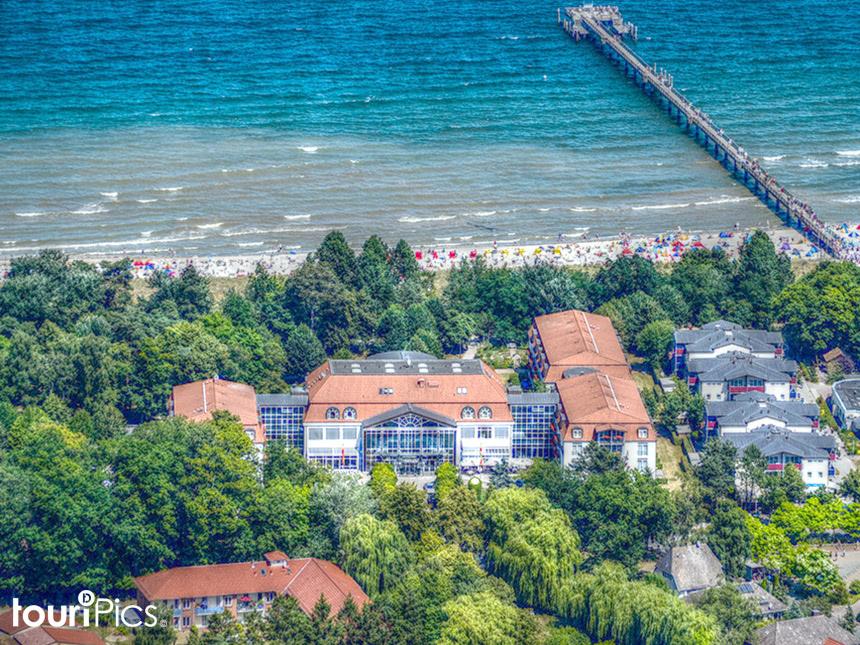 4 Tage Urlaub an der Ostsee im Hotel Großherzog von Mecklenburg mit Frühstück