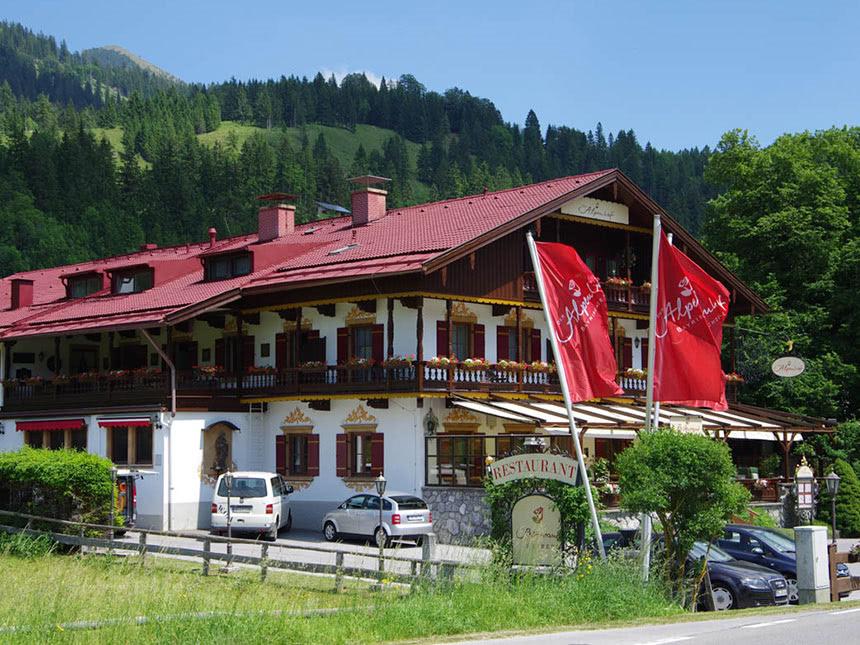 4 tage urlaub in bayrischzell in oberbayern im hotel der alpenhof mit fr hst ck ebay. Black Bedroom Furniture Sets. Home Design Ideas