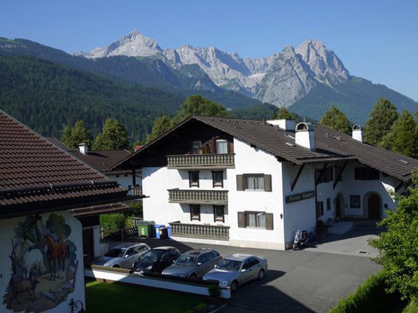 Garmisch-Partenkirchen 4 Tage Urlaub Hotel Garni Brunnthaler 3 Sterne Gutschein