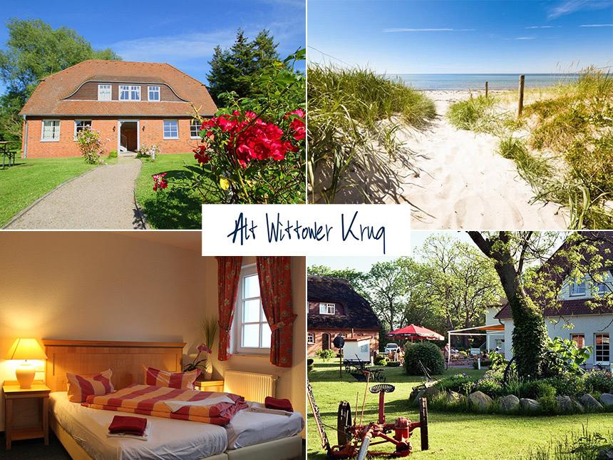 Ostsee 4 Tage Kurzurlaub Insel Rügen Land-Hotel...