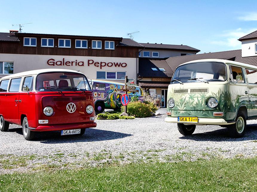 7 Tage Urlaub in der Pension Galeria Pepowo mit Frühstück Angebot aufrufen