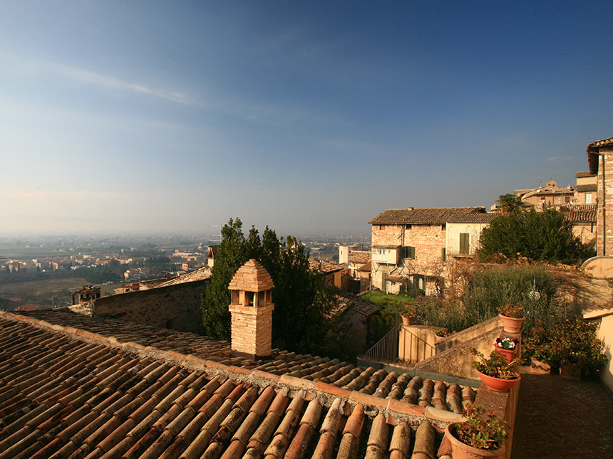 Hotel-terrasse
