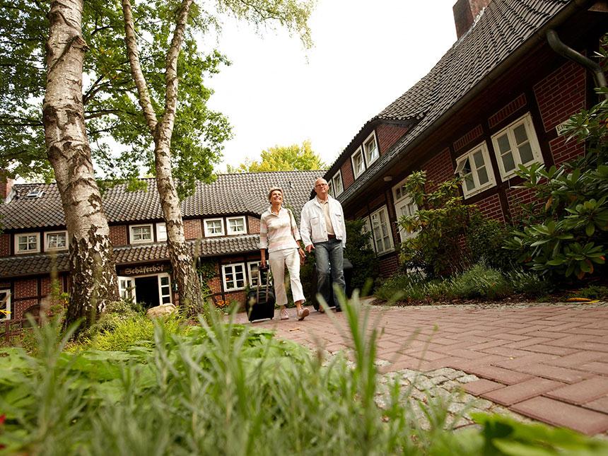 5 Tage Urlaub in der Lüneburger Heide im Hotel Schäferhof mit Frühstück Angebot aufrufen